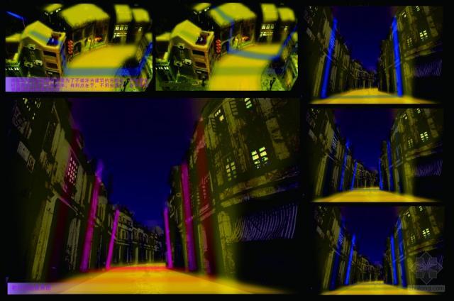 """【bpi学生竞赛】""""脐带""""-在屋顶和地面设置灯光是为了不破第5张图片"""